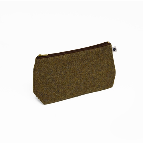 Harris Tweed - Washbag - Heather