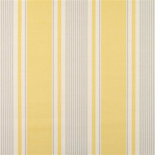 French Ticking - Buttercup, Clay - remnants