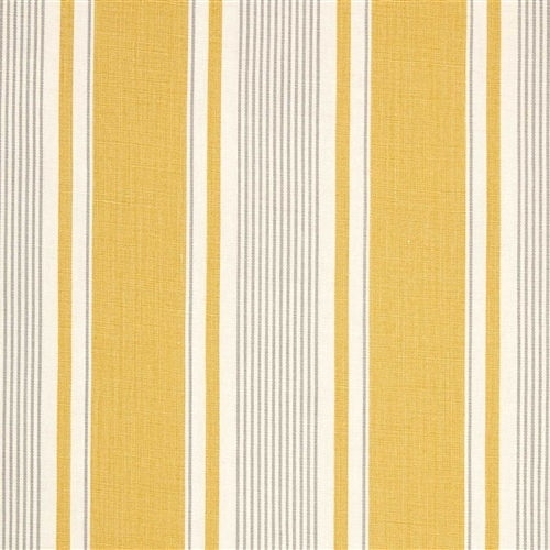 French Ticking - Saffron, Scree - remnants