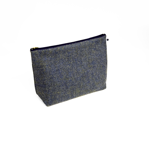 Harris Tweed - Washbag - Sea