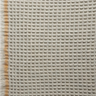 Honeycomb Blanket - Saffron